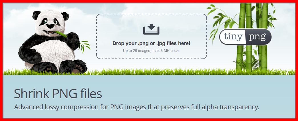 TinyPNG website