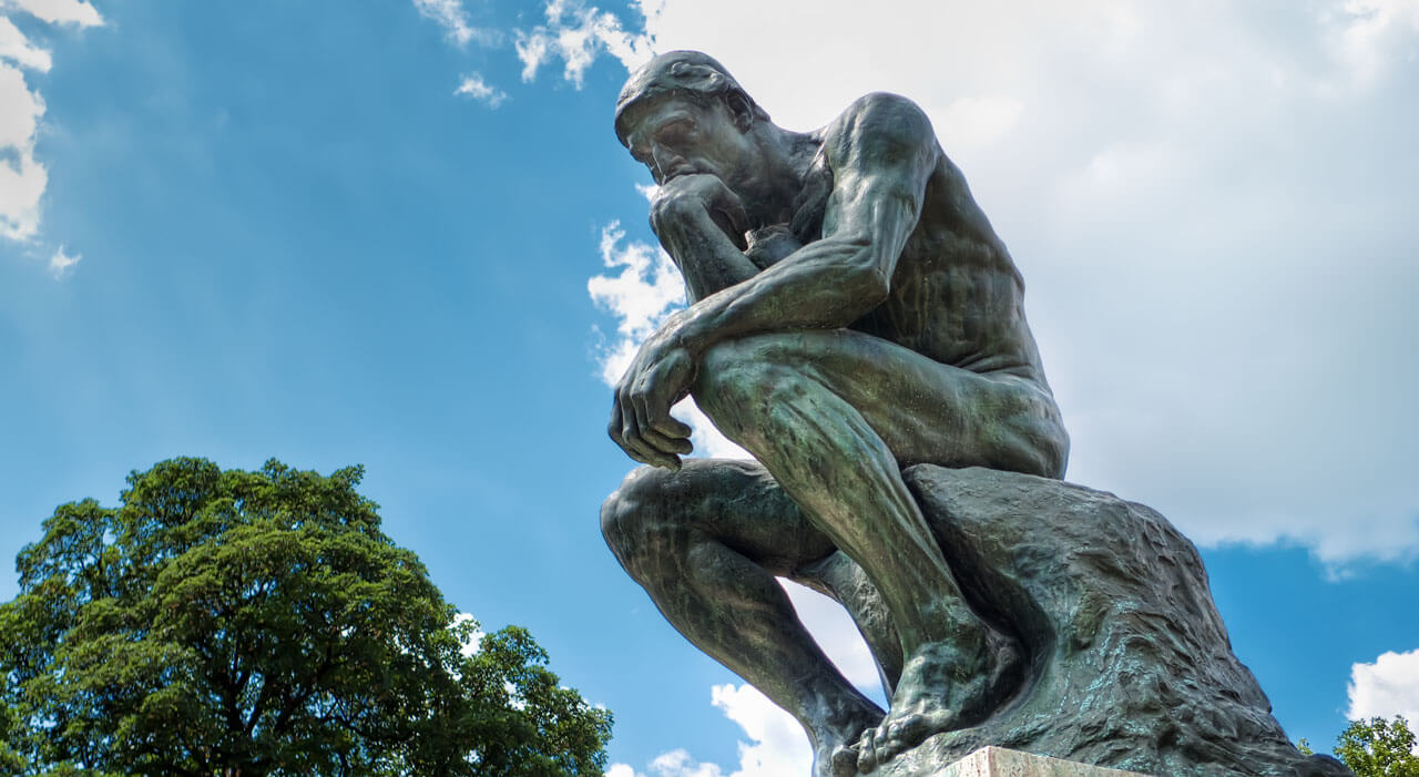 the thinker image