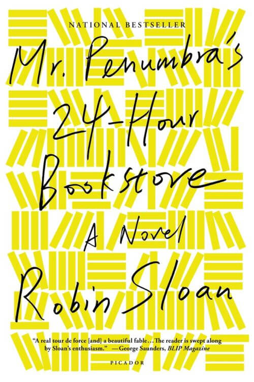 Mr. Penumbra's 24-Hour Bookstore Cover