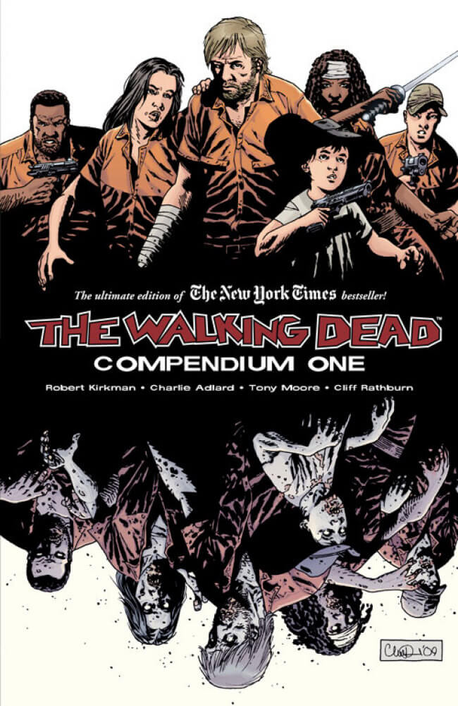 walking dead compendium one cover
